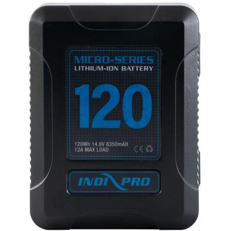 IndiPro VMP120S Micro-Series 120Wh V-Mount Li-Ion Battery