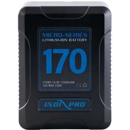 IndiPro VMP170S Micro-Series 170Wh V-Mount Li-Ion Battery