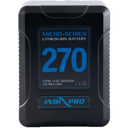 IndiPro VMP270S Micro-Series 270Wh V-Mount Li-Ion Battery