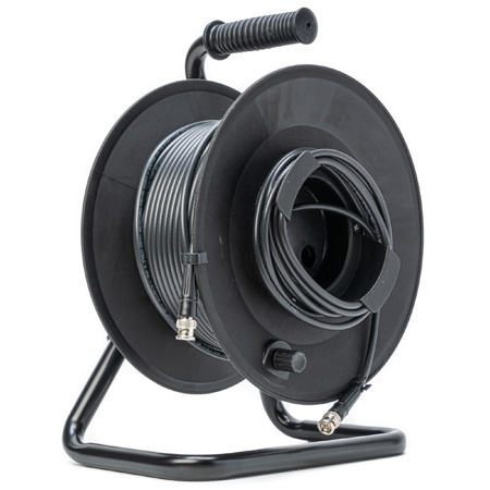MarkerReel 1-Channel BNC 3G-SDI Cable Reel with Belden 1505A RG59 - 300 Foot