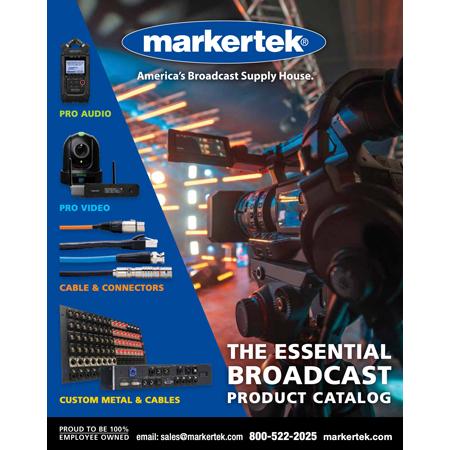 Markertek Fall/Winter 20-21 Edition 210 Page Catalog - FREE
