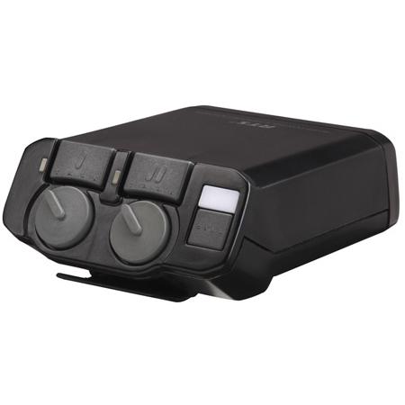 RTS OMNEO BP-325 Dual-Channel Binaural Programmable Intercom Beltpack - Black