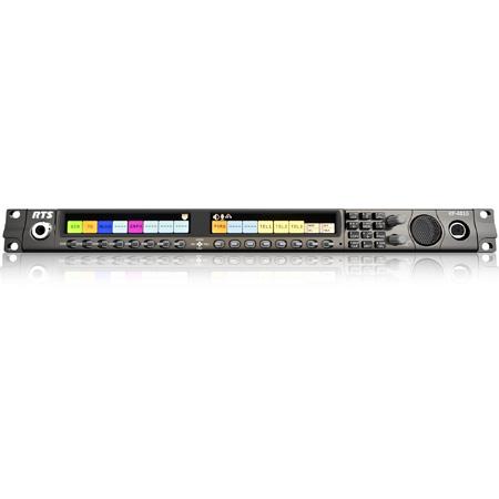 RTS KP-4016 OMNEO 16-Key IP Intercom Keypanel with HD Color Display - 1RU