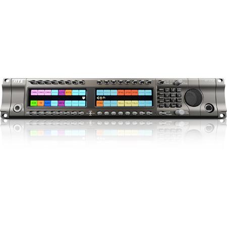 RTS KP-5032 OMNEO 32-Key IP Intercom Keypanel with HD Color Display - 2RU
