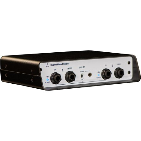 Low Noise Discrete Input Amp Palmer Audio Tools PDI-02 Active DI Box