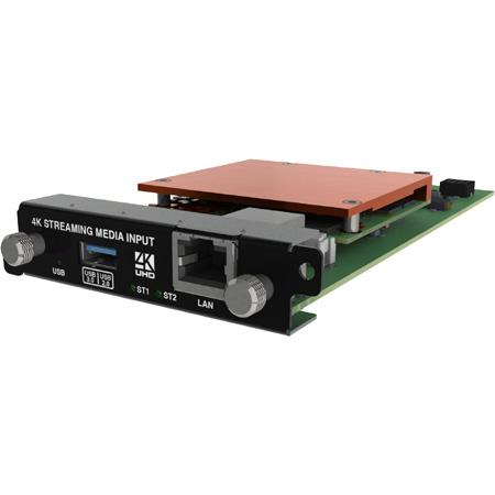 TVOne CM-AVIP-IN-1USB-1ETH-128 CORIOmodule 4K Media Streaming Input - 128GB SSD