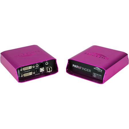 tvONE MG-KVM-531 Magenta Pathfinder DVI KVM Fiber Encoder 1920x1200 at 1GB
