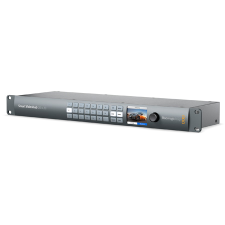 Blackmagic Design Smart Videohub 20 x 20 SD/HD/Ultra HD 6G-SDI Mixed Format Router