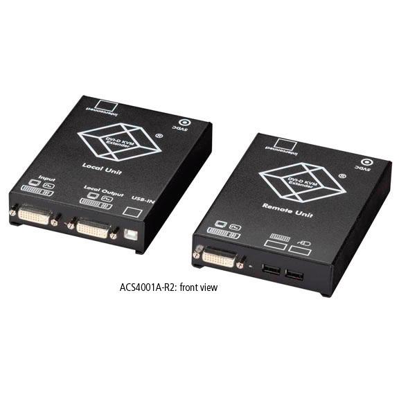 Black Box Acs4001a R2 Servswitch Single Dvi Catx Kvm