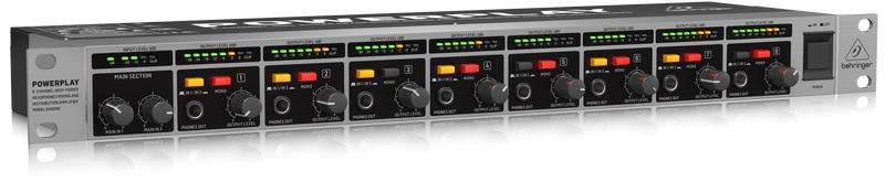 Powerplay Pro 8 : behringer powerplay pro 8 ha8000 v2 8 ch high power headphones distribution amp ~ Vivirlamusica.com Haus und Dekorationen