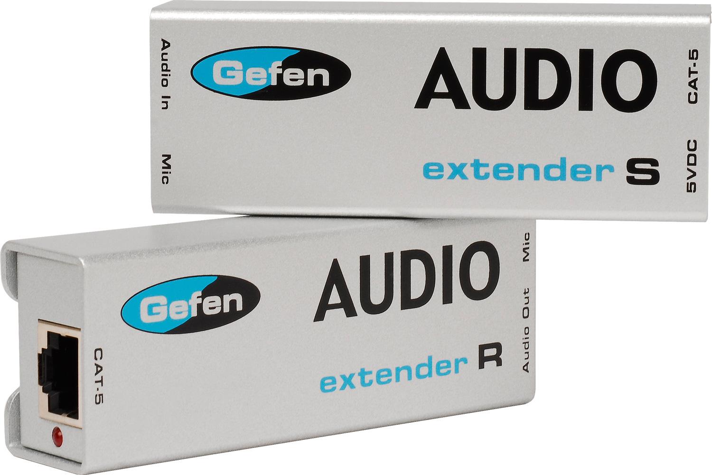 gefen ext aud 1000 analog audio extender over cat 5 cable. Black Bedroom Furniture Sets. Home Design Ideas