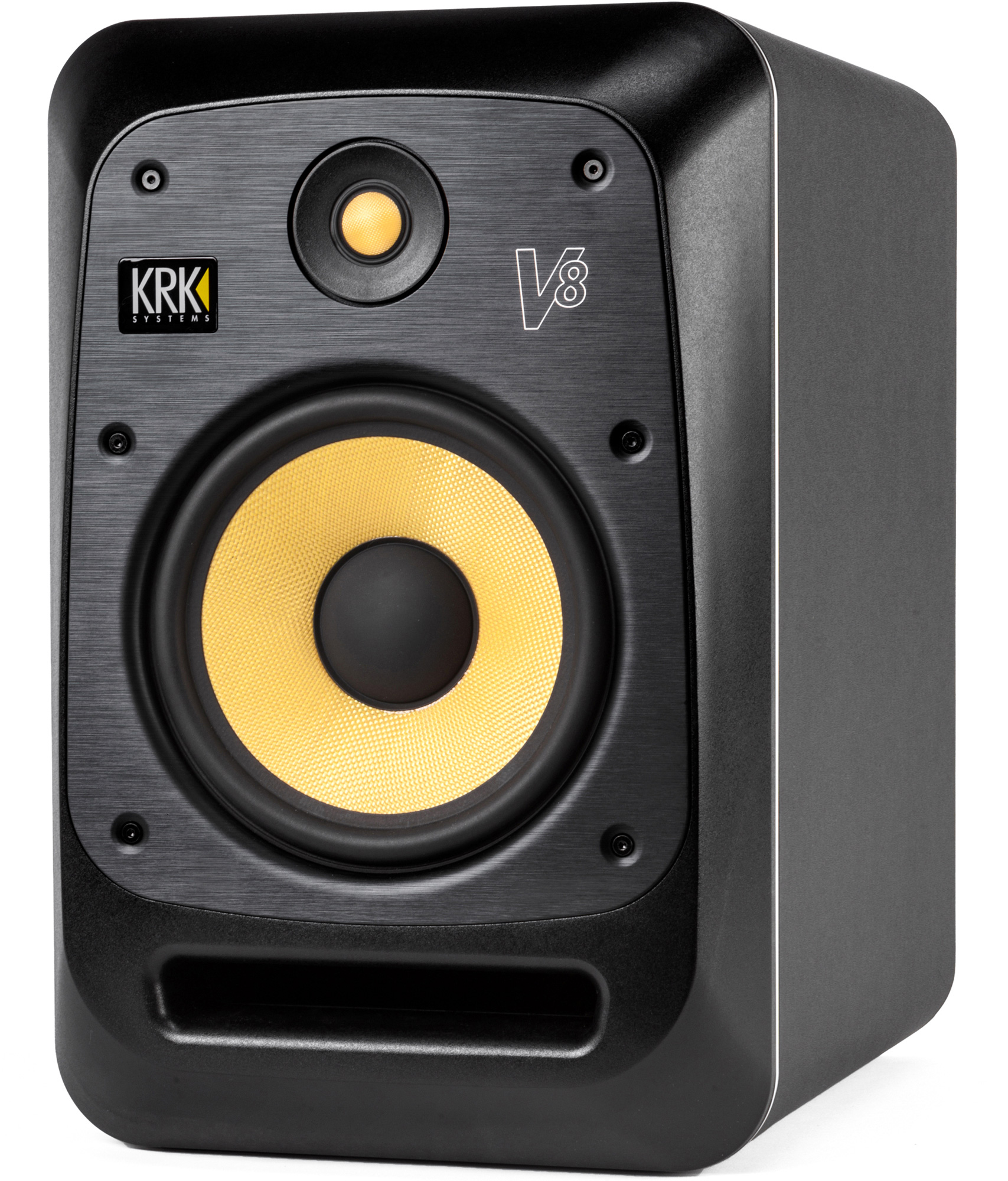 krk v8s4 8 inch studio monitor 120v. Black Bedroom Furniture Sets. Home Design Ideas