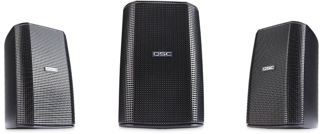 QSC Audio AD-S32T 2-Way Surface Mount Speaker