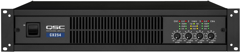 qsc cx404 4 channel power amplifier. Black Bedroom Furniture Sets. Home Design Ideas