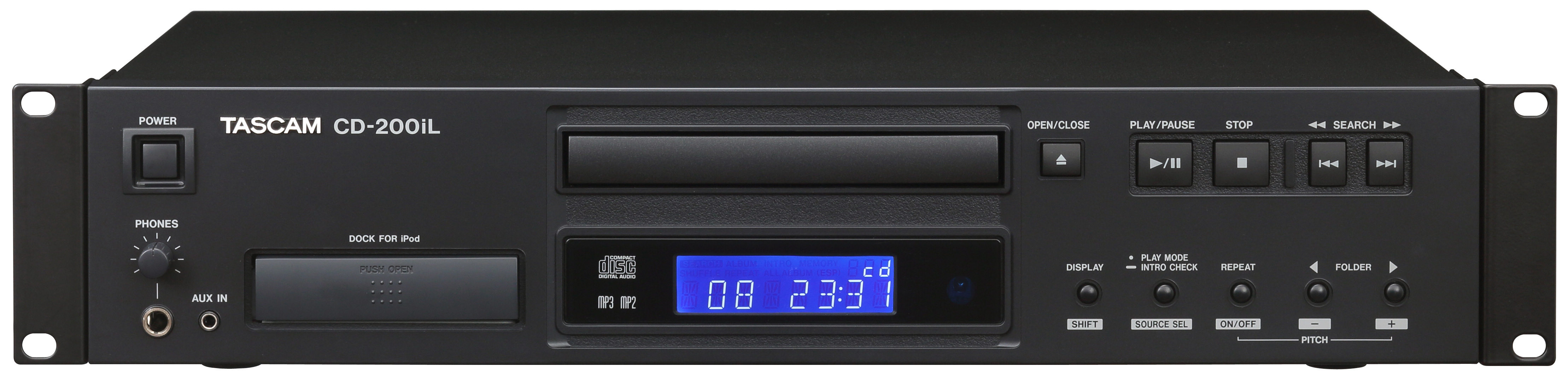 Tascam Cd 200il Professional Single Cd Player