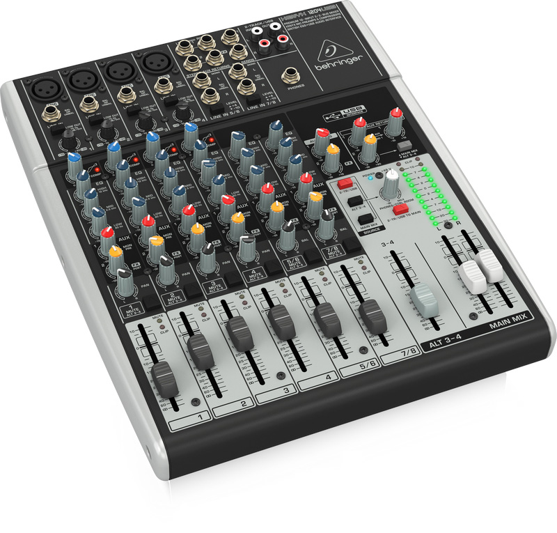 Behringer Xenyx 1204usb 12 Channel Usb Audio Mixer