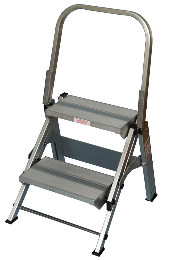 Xtend Amp Climb Wt2 2 Step Folding Safety Step Stool With