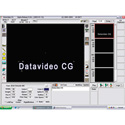 Datavideo CG-100 Video Character Generator Software - PC Based
