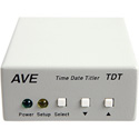 American Video Equipment TDT Camera Titler with Time and Date Generator