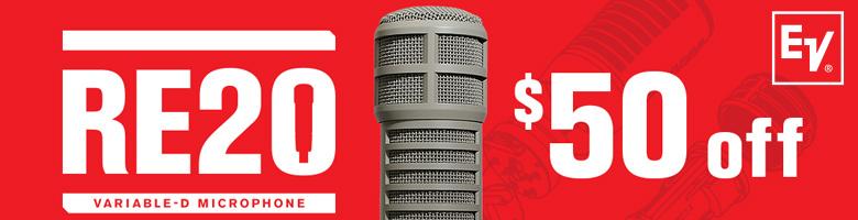 ELECTROVOICE RE20 $50 IR - 2021