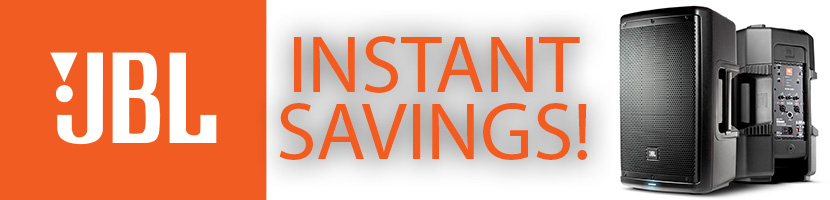 JBL INSTANT SAVINGS AT MARKERTEK