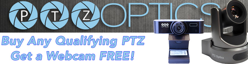 PTZ OPTICS FREE WEBCAM AT MARKERTEK