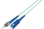 ST to SC Fiber Optic Patch Cables