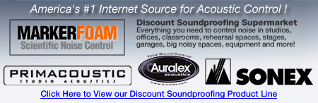 Markertek is America's #1 Source For Acoustic Control!
