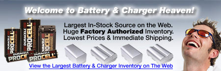 Markertek is Battery & Charger Heaven