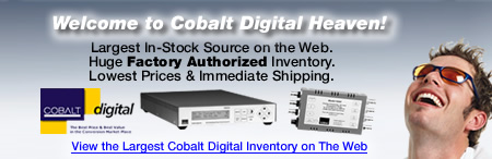 Markertek is Cobalt Digital Heaven