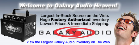 Markertek is Galaxy Audio Heaven
