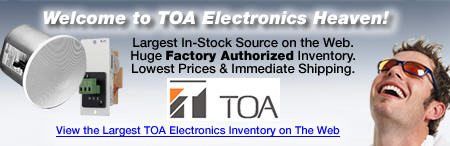 Markertek is TOA Electronics Heaven