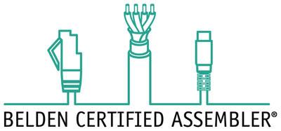 Belden Certified Assembler Logo