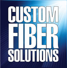 Custom Fiber Solutions Badge