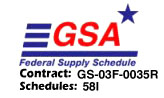 Markertek GSA Federal Supply Schedule Contract GS-03F-0035R Schedules 58I