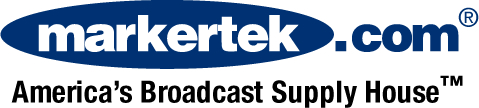 Markertek Logo: America's Broadcast Supply House