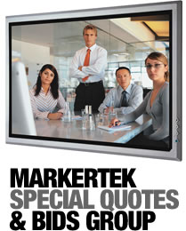 Markertek Special Quotes & Bids Group