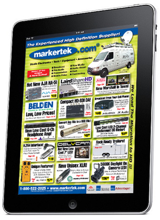 Markertek Catalog for the iPad