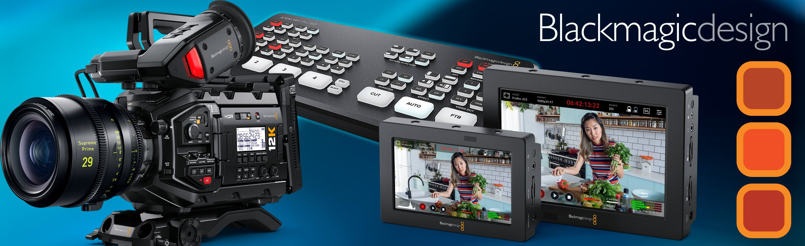 all of the latest blackmagic gear from markertek