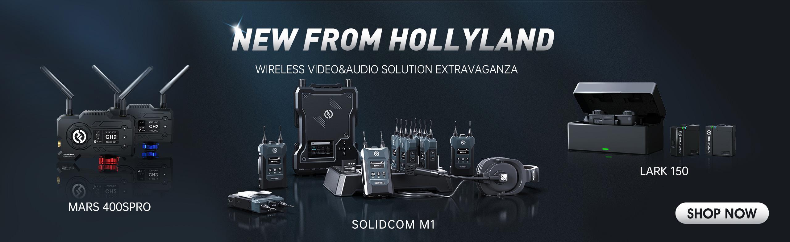 hollyland lars solidcom now from markertek