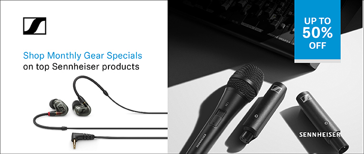 save 50% on select popular sennheiser products