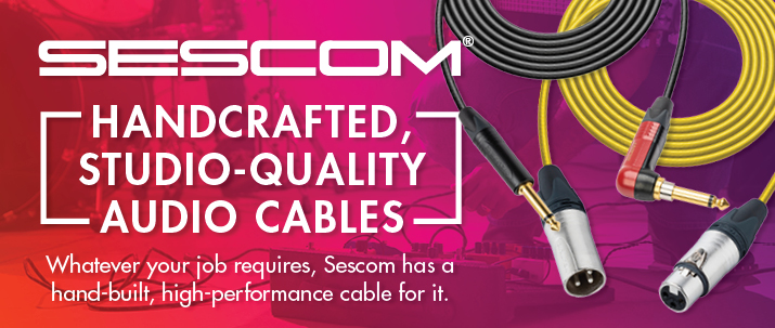world's finest sescom cables from markertek