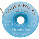 Chemtronics Chem-Wik Rosin - Desoldering Braid 50ft