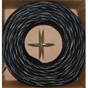 CAT5E UTP Bulk Cable Solid 350MHz / 24 AWG 1000 Foot Black