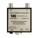 VAC 11-913-101 Composite Video DA 1X1 Standard Input with Variable Gain