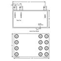 VAC 12-111-112 Component Video 1x2 RGB DA