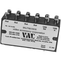 VAC 16-141-404  1x4 Unbalanced Stereo Dist. Amp W/RCA