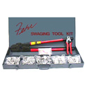 Swaging Tool & 1/16 through 3/16 Aluminum Sleeve/Stop Kit