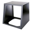 KD Series Laminate Turret Rack Black