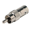 RCA Male to 50 Ohm BNC Female Video Adapter